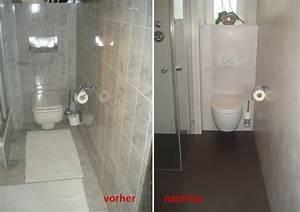 Kleines Bad Renovieren Vorher Nachher : wohnideen wandgestaltung maler kleines bad nun mit ~ Articles-book.com Haus und Dekorationen