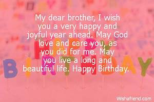 Quotes about Dear brother (65 quotes)