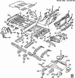 Pontiac Trans Sport Reinforcement  Frame Front Side And