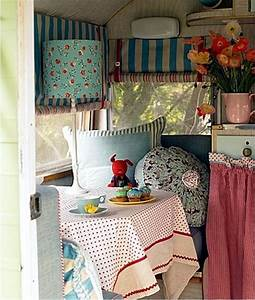 Caravan decoration – create a retro touch Interior