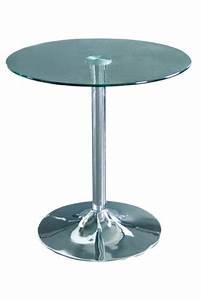 Glastisch Rund 80 Cm : glastisch tisch rund bistrotisch m 80408 156 ~ Frokenaadalensverden.com Haus und Dekorationen