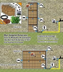 Mur Végétal Extérieur : module pour mur vegetal exterieur sofag ~ Louise-bijoux.com Idées de Décoration