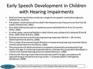 Chapter 19 Hearing Impairment and Developmental ...