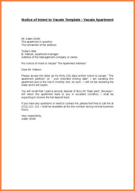 apartment notice letter nice apartement