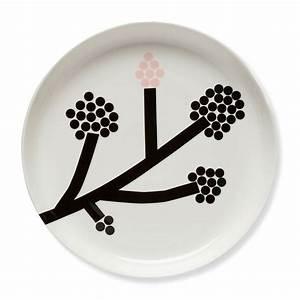 Teller Schwarz Weiß : hortensie teller 32 cm von marimekko kaufen ~ Eleganceandgraceweddings.com Haus und Dekorationen