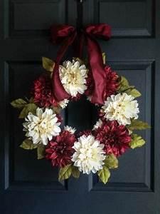 Easter Door Wreath Primitive Country Wreath Easter