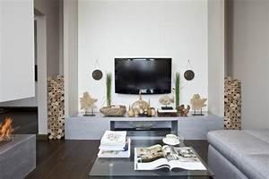 Moderne Tv Lowboards : kleines wohnzimmer modern einrichten tipps und beispiele ~ Whattoseeinmadrid.com Haus und Dekorationen
