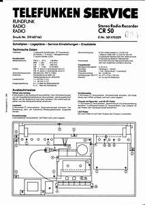 Telefunken Cr50 Service Manual