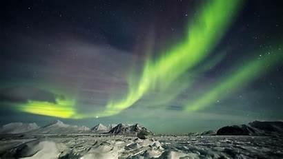 Svalbard Lights Arctic Northern Nights Northernlights Nordic