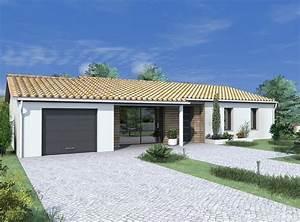 les 66 meilleures images du tableau nos maisons tendance With facade maison plain pied3