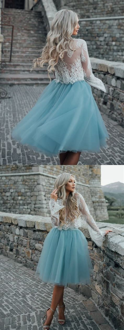 elegant turquoise homecoming dresses, modest semi formal ...