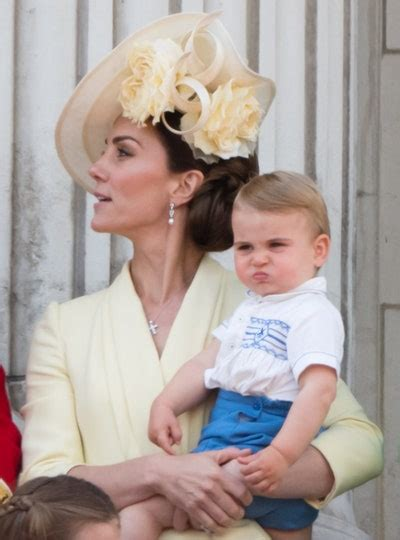prince louis   trooping  colour