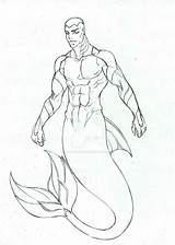 Merman Pages Coloring Kaldur Deviantart Template Young Aqualad Drawings Sketch Justice Templates Random Cartoons sketch template