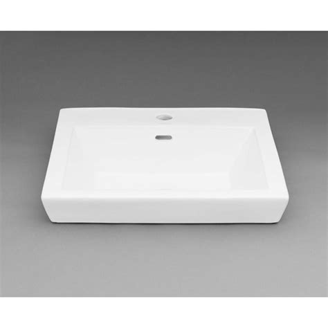 square drop in bathroom sink ronbow square tapered ceramic drop in bathroom sink in