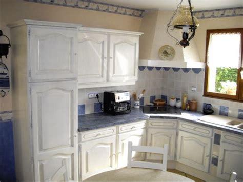 peindre sa cuisine davaus peindre cuisine chene en blanc avec des