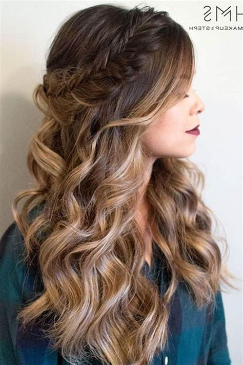 long hairstyles   prom
