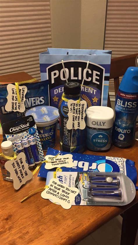 police appreciation gift   husband