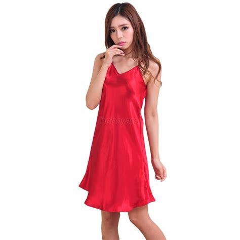 nightwear nightgown babydoll satin lace dress sleepwear ebay
