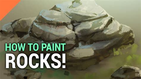 how to paint a l how to paint rocks in photoshop