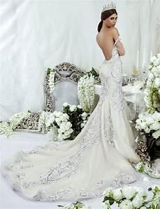Best swarovski wedding dress ideas on pinterest maggie for Swarovski wedding dress