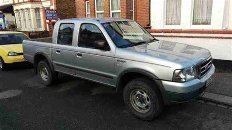 ford 2005 ranger 4x4 turbo diesel silver car for sale