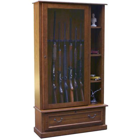 Gun Cabinet by American Furniture Classics 8 Gun Curio Cabinet