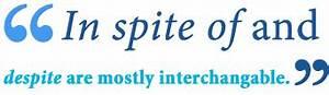 In Spite vs. De... Spiteful Definition