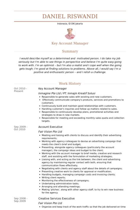 account manager resume template 100 images