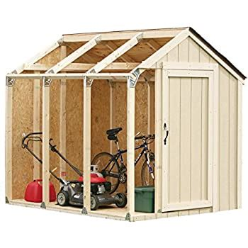 amazoncom shed    paper plans  easy beginners