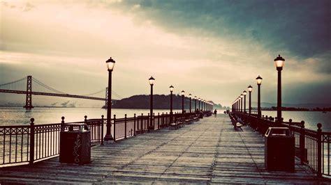 photography pier   storm  cool pc