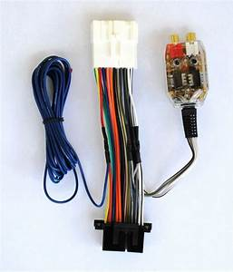 Factory Stereo Amplifier Subwoofer Interface Wire Harness