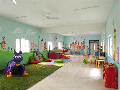 sar wall decors play school wall painting  wall