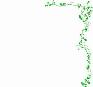 Jungle Vine Border Clipart