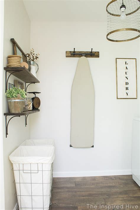 Diy Laundry Room Decor - rustic industrial laundry room reveal the inspired hive
