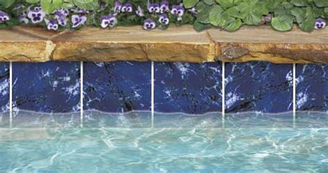 6x6 decorative pool tile marbelized 3x3 6x6 us pool tile