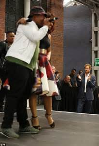 Prince Harry is impressed by a hip hop singer Bianca Le ...