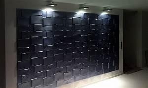 3d Wandpaneele Schlafzimmer : wandpaneele in 3d wir bauen unser haus ~ Michelbontemps.com Haus und Dekorationen