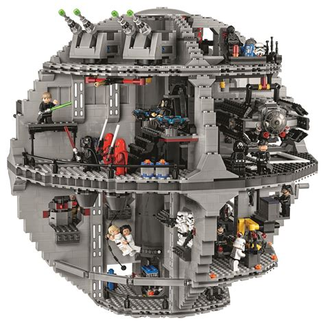 the lego 75159 is almost a carbon copy of its