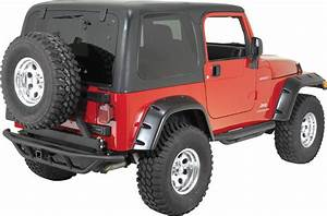 Rugged Ridge Rrc Rear Bumper With Hitch And Swingout Tire Carrier For 87