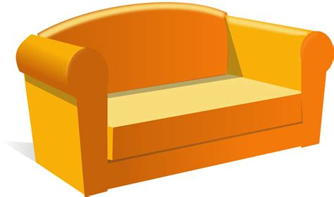Sofa Clipart by Sofa Free Stock Photo Illustration Of A Sofa 11370