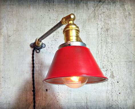 Sconce Bathroom Wall Sconce Lighting Articulating Brass