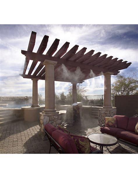 patio misting systems    custom designed