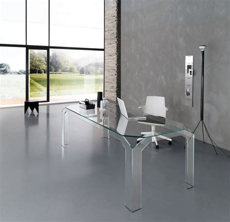 glass desk for sale nervi glass office desk by tonelli design