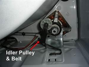 Maytag Dryer Model Medc400vw0 Drum Removal  U0026 Belt Replacement