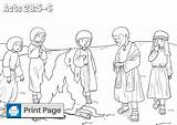 Paul Coloring Shipwrecked Shipwreck Acts Niv Printables Sea sketch template