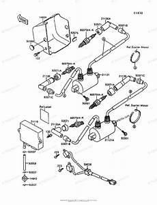 Kawasaki Motorcycle 1996 Oem Parts Diagram For Ignition