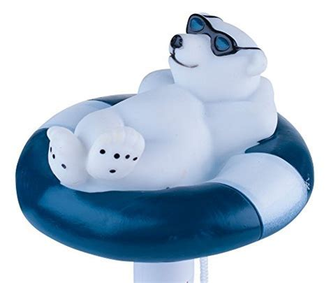 Milliard Floating Pool Thermometer Polar Bear, Large Size