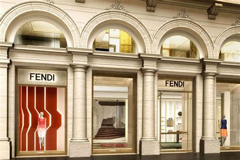 Palazzo Fendi Set To Unveil The Brand's First Boutique