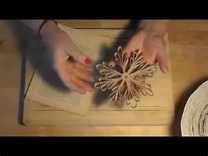 Basteln Mit Buchseiten : kmz schneeflocke aus buchseiten basteln snowflake tutorial youtube ~ Eleganceandgraceweddings.com Haus und Dekorationen
