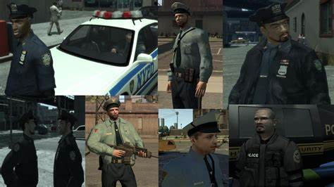 Coloured Police Offers An Additional Service gta gaming archive